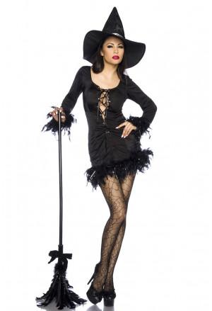 Kostým čarodejnice - ideálny na Halloween