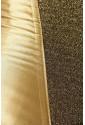 Saténový žiarivý korzet - zlatý