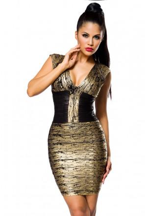 Sofistikované bandážové šaty ATHINA