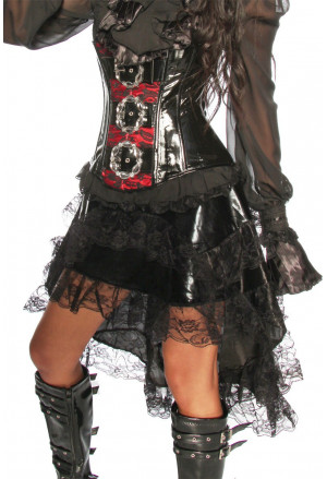 Five-layer skirt in the Gothic style