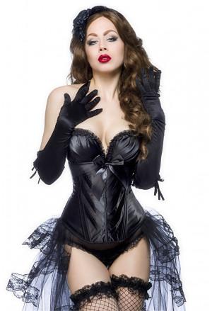 High quality black corset