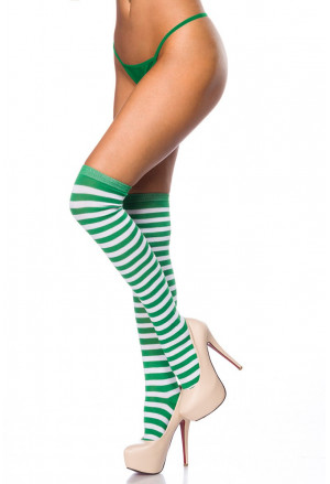 Colored cotton funny knee socks