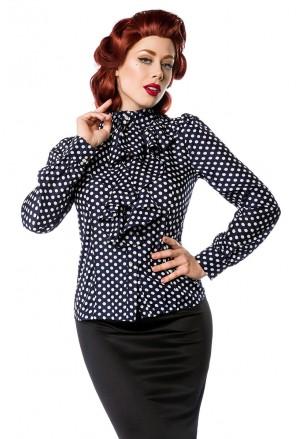 Elegant retro vintage blouse