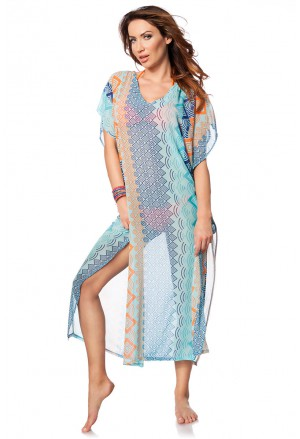 Long Beach colored Kaftan