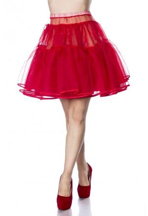 Krátka červená spodnička Belsira