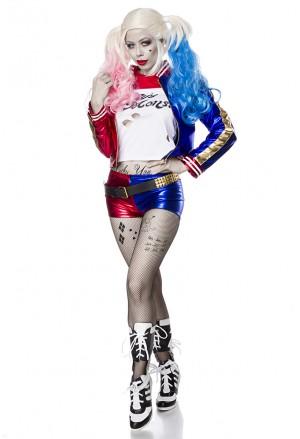 Kvalitný dámsky kostým Suiside Harlekýn