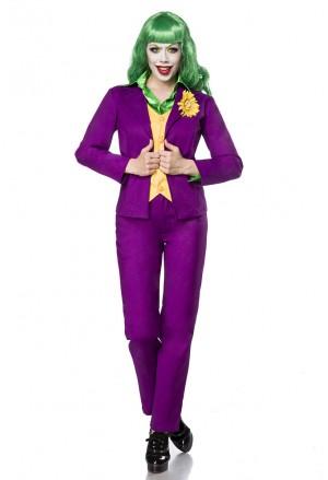 Kvalitný dámsky kostým Lady Joker