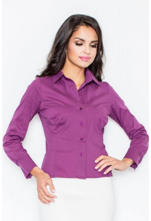 Women business office shirt FIGL M021