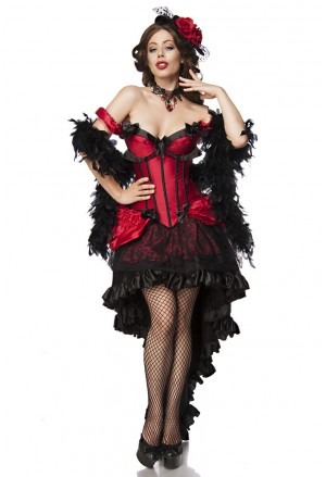 Exclusive full Moulin Rouge Girl costume set