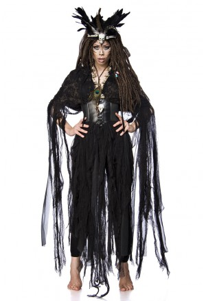 Mystical Voodo Witch costume set