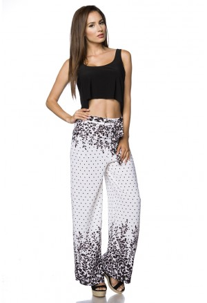 Droopy hippie bohemian paisley pants with pockets
