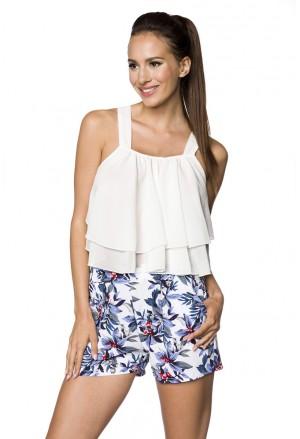 Bohemian summer pocket shorts