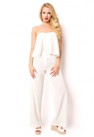 Summer white set - pants and top