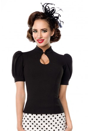 Elegant women retro blouse Belsira