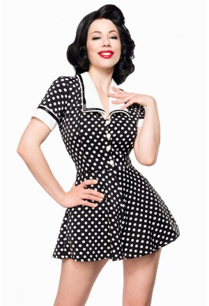 Sweet summer dots retro jumpsuit