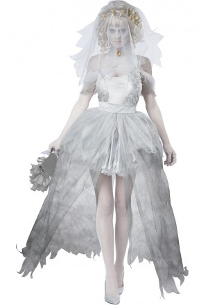 Horrible Ghostly Bride Costume