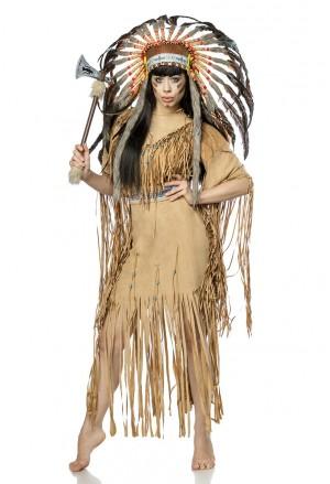 Beautiful native american indian costume set