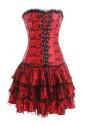 Korzetové šaty a lá Carmen