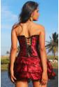 Korzetové šaty Carmen V 3 FARBÁCH