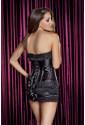 Čierny korzet so sukničkou 68