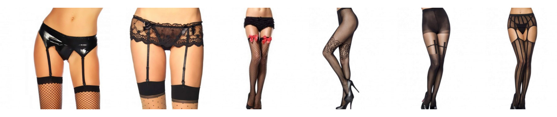 Stockings, garters, pantyhose, pants