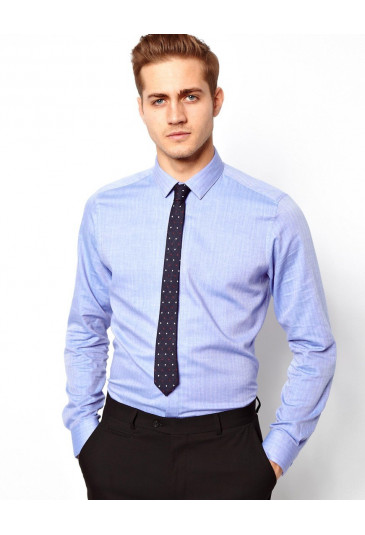 Men's shirt ASOS Herringbone stitch