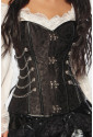 Rebel  woman corset STEAM-PUNK