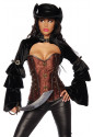 Rebel  woman corset STEAM-PUNK