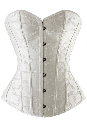 Embroidered corset