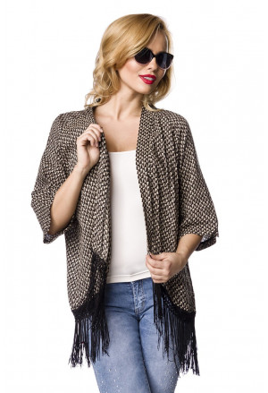 Summer cardigan with fringes