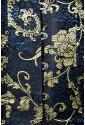 Blue brocade underbust corset LUXURY WOMEN