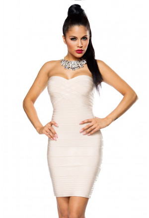 Amazing bandage dress BRIDE