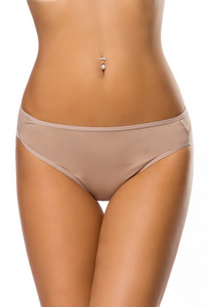 Interesting forming beige briefs