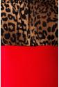 Great vintage dress with leopard pattern