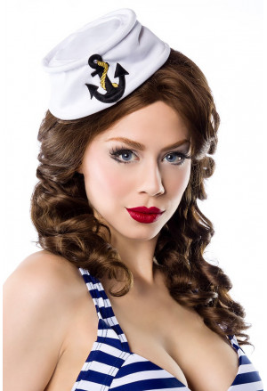 Beautiful navy cap