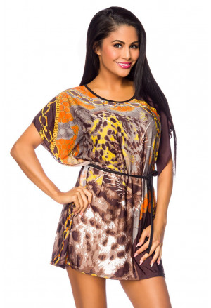 Beach colored tunic LEO
