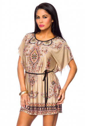 Beach colored tunic ORIENT
