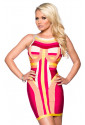 High-quality bandage dress COLORIA