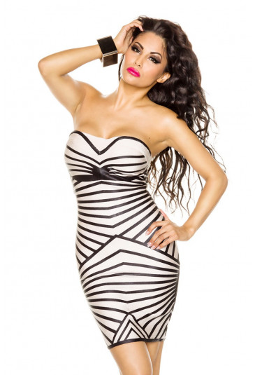 Elastic bandage dress STEPHANIE