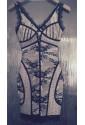 Lace bandage dress COCO