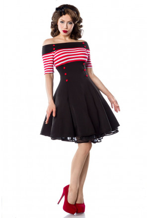 Beautifully rockabilly pin-up style dress