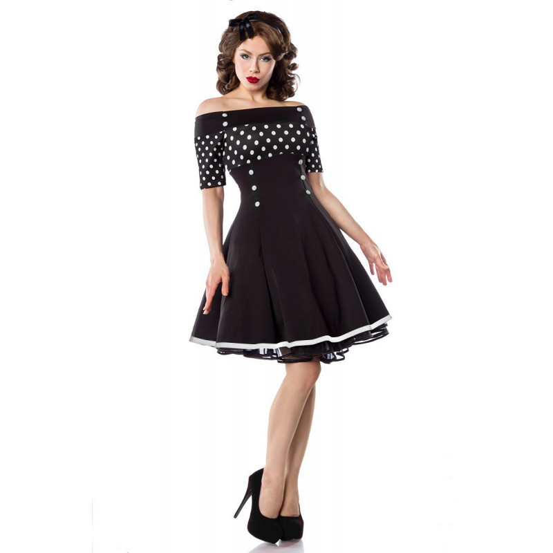 Nádherne rockabilly pin-up style šaty - SELECTAFASHION.COM 854f52f526a