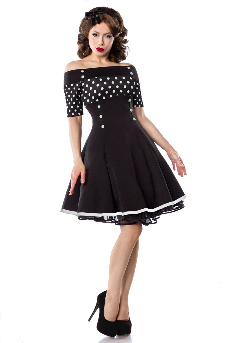 f8afebfe77a8 Nádherne rockabilly pin-up style šaty - SELECTAFASHION.COM