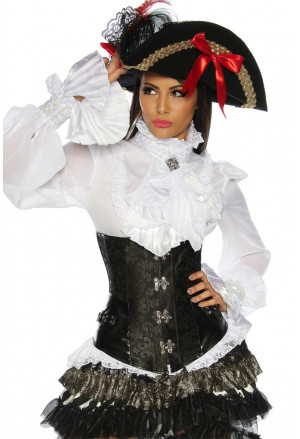 Beautiful gothic corset PIRATE