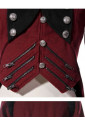 Period dress coat in military style