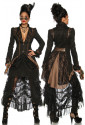 Outstanding tailcoat in steampunk style