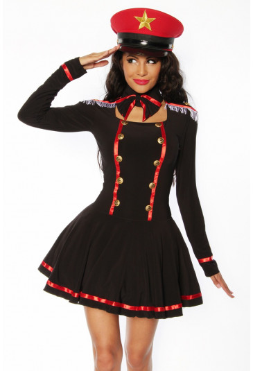 Beautiful two-piece costume navy