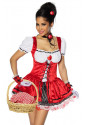 Playful Little Red Riding Hood Costume