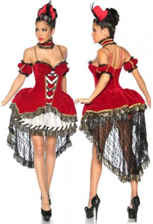Prepracovaný kostým Alenky v ríši divov