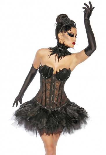 Fantastická čierna spodnička